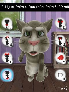Mobile game Talking Tom Cat 3 - screenshots. Gameplay Talking Tom Cat