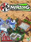 Screenshots and gameplay of the java game 3 in 1 Mahjong Deluxe.