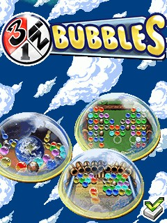 Download free mobile game: 3 in 1 Bubbles - download free games for mobile phone