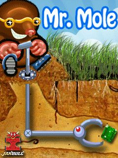Download free mobile game: Mr. Mole - download free games for mobile phone