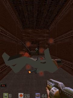 Mobile game Quake 2 - screenshots. Gameplay Quake 2
