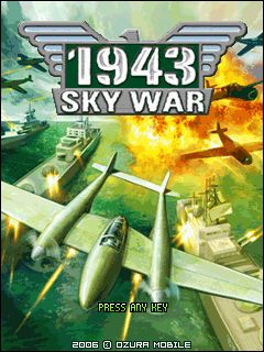 Download free mobile game: 1943 Sky War - download free games for mobile phone