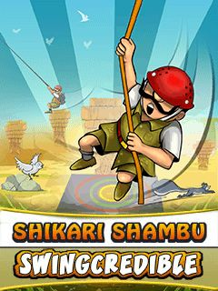 Download free mobile game: Shikari Shambu: Swingcredible - download free games for mobile phone