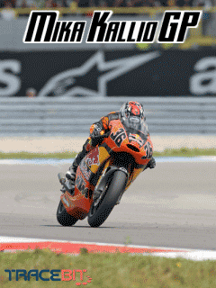 Download free mobile game: Mika Kallio GP - download free games for mobile phone