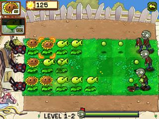 Mobile game Plants vs Zombies - screenshots. Gameplay Plants vs Zombies