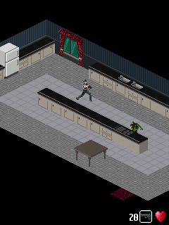 Mobile game Resident Evil: Genesis - screenshots. Gameplay Resident Evil: Genesis