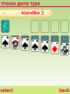 Mobile game 365 Solitaire Gold 12 in 1 - screenshots. Gameplay 365 Solitaire Gold 12 in 1