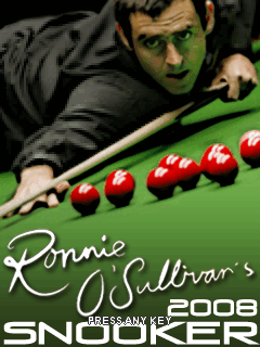 Download free mobile game: 3D Ronnie OSullivans Snooker 2008 - download free games for mobile phone