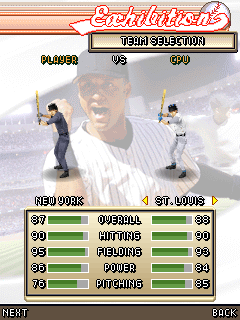 Mobile game Derek Jeter Pro Baseball 3D 2007 - screenshots. Gameplay Derek Jeter Pro Baseball 3D 2007