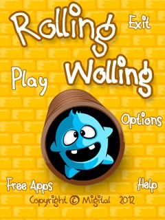 Download free mobile game: Rolling Wolling - download free games for mobile phone