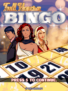 Download free mobile game: Full House Bingo - download free games for mobile phone