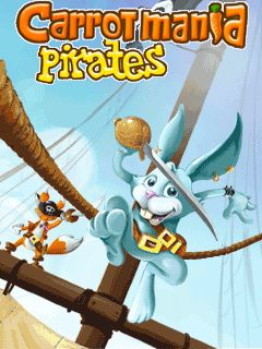 Mobile game Carrot Mania Pirates - screenshots. Gameplay Carrot Mania Pirates