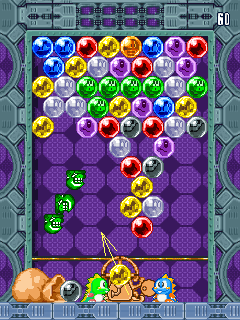 Mobile game Super Puzzle Bobble - screenshots. Gameplay Super Puzzle Bobble