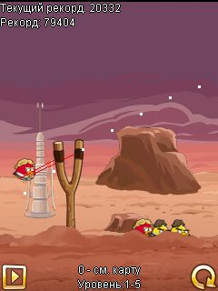 Mobile game Angry Birds: Star Wars - screenshots. Gameplay Angry Birds: Star Wars
