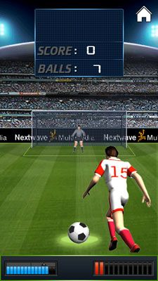 Mobile game Penalty Kick - screenshots. Gameplay Penalty Kick