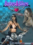In addition to the  game for your phone, you can download Babes & Bikes for free.