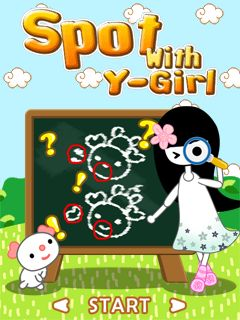 Download free mobile game: Spot With Y-Girl - download free games for mobile phone