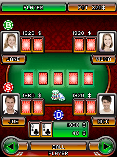 Poker online java touchscreen