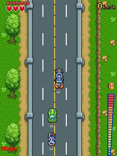 Zero Road Race - java game for mobile. Zero Road Race free ...