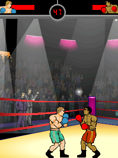 Mobile game Knockout Boxing - screenshots. Gameplay Knockout Boxing