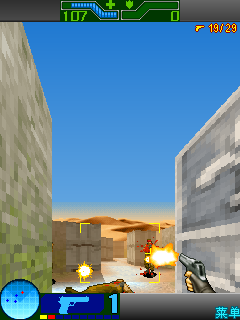 Mobile game Counter-Strike 3D - screenshots. Gameplay Counter-Strike 3D