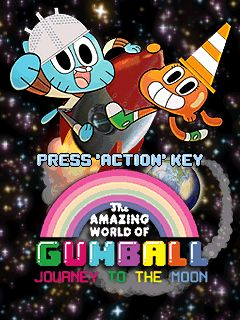 Mobile game Gumball Journey to the Moon - screenshots. Gameplay Gumball Journey to the Moon