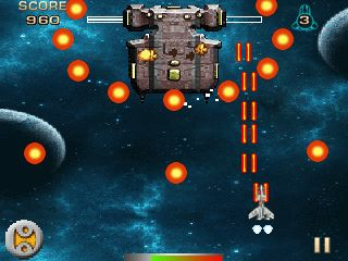 Mobile game Nabuna Galaxy Battle - screenshots. Gameplay Nabuna Galaxy Battle