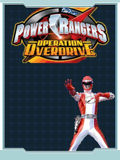 Mobile game Power Rangers: Operation Overdrive - screenshots. Gameplay Power Rangers: Operation Overdrive