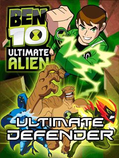 Download free mobile game: Ben 10: Ultimate Alien. Ultimate defender - download free games for mobile phone