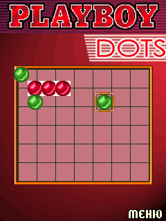 Mobile game PlayBoy Dots - screenshots. Gameplay PlayBoy Dots