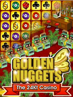 Download free mobile game: Golden Nuggets: The 24Kt Casino - download free games for mobile phone