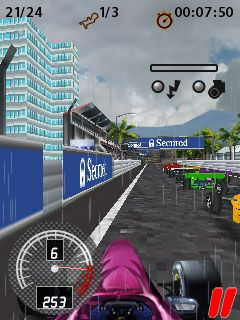 Mobile game Formula Racing Pro 3D - screenshots. Gameplay Formula ...
