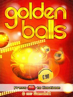 Download free mobile game: Golden Balls - download free games for mobile phone
