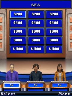 Mobile game Jeopardy! Deluxe - screenshots. Gameplay Jeopardy! Deluxe