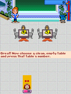Mobile game Diner Dash 2: Restaurant Rescue - screenshots. Gameplay Diner Dash 2: Restaurant Rescue