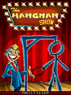 Download free mobile game: The Hangman Show - download free games for mobile phone