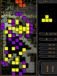 Mobile game Mega Tetris - screenshots. Gameplay Mega Tetris
