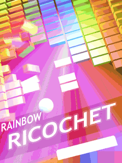 Download free mobile game: Rainbow Ricochet - download free games for mobile phone