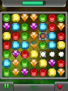 Mobile game Infinity Jewel - screenshots. Gameplay Infinity Jewel