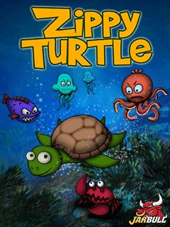 Download free mobile game: Zippy Turtle - download free games for mobile phone