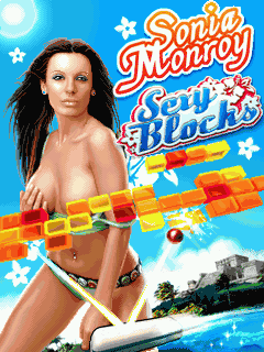 Download free mobile game: Sonia Monroy Sехy Blocks - download free games for mobile phone
