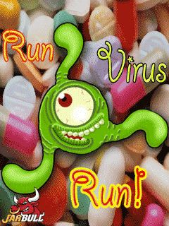 Mobile game Run Virus Run - screenshots. Gameplay Run Virus Run