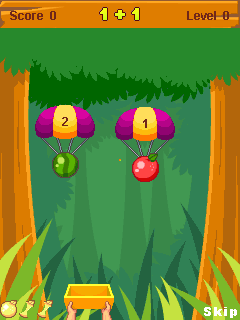 Mobile game Fruit Math - screenshots. Gameplay Fruit Math