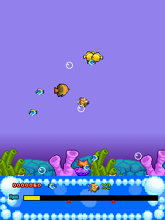 Mobile game Deep-sea fish - screenshots. Gameplay Deep-sea fish