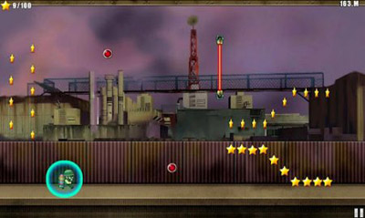Mobile game JetPack soldier - screenshots. Gameplay JetPack soldier