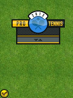 Download free mobile game: Pro tennis 2013 - download free games for mobile phone