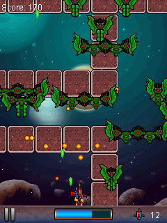 Mobile game Invaders Strike - screenshots. Gameplay Invaders Strike