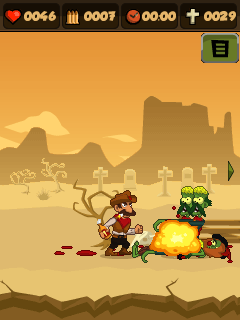 Mobile game Zombie Chase (Zombies N' Guns) - screenshots. Gameplay Zombie Chase (Zombies N' Guns)