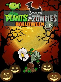 Mobile game Plants vs. Zombies: Halloween - screenshots. Gameplay Plants vs. Zombies: Halloween