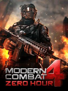 Modern Combat 4 Zero Hour game HP Java jar